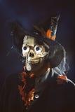 Homme de crâne Images libres de droits