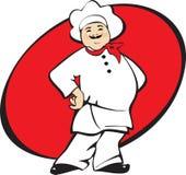 Homme de cuisinier Photo libre de droits