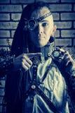 Homme de Cyberpunk photo stock