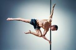Homme de danse de Polonais images stock