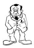 Homme de dessin animé illustration stock