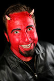 Homme de diable Photographie stock
