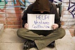 Homme de Hobo Photos libres de droits