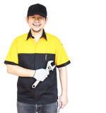 Homme de mécanicien Photos stock