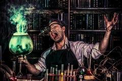 Homme de magicien photos stock