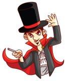 Homme de magicien illustration libre de droits