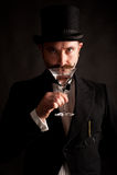 Homme de Martini Photographie stock