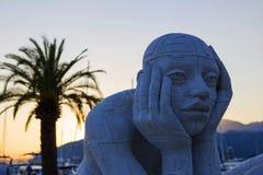 Homme de monument Image libre de droits