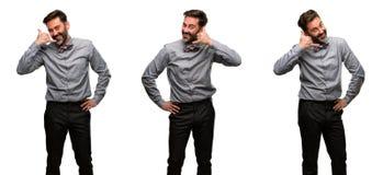 Homme de Moyen Âge portant un costume photographie stock
