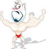 Homme de muscle illustration libre de droits