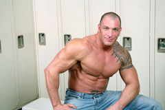 Homme de muscle Photo libre de droits