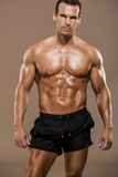 Homme de muscle photographie stock