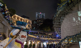 Homme de neige à l'héritage 1881 en Hong Kong Images stock