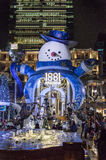 Homme de neige à l'héritage 1881 en Hong Kong Image stock