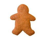 Homme de pain d'épice Photographie stock libre de droits