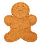 Homme de pain d'épice d'isolement Image stock
