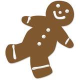 homme de pain d'épice de biscuit Photos stock