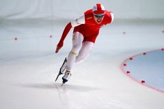 homme de patinage de vitesse de 500 m Photo libre de droits