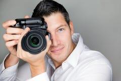 Homme de photo images stock