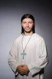 Homme de prêtre photo stock