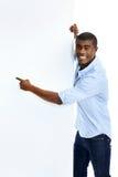 Homme de publicité sûr photos libres de droits