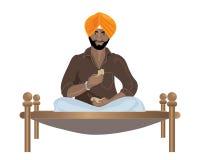 Homme de Punjabi illustration de vecteur