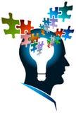 Homme de puzzle Images libres de droits