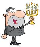 Homme de rabbin Image libre de droits