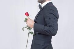 Homme de Rose photos stock