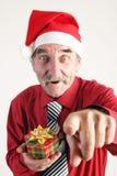 Homme de Santa Photographie stock