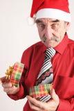 Homme de Santa Image libre de droits