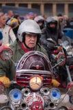 Homme de scooter Photo libre de droits