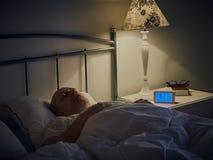 Homme de sommeil Photos stock