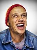 Homme de sourire Photos libres de droits