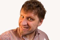 Homme de sourire Photographie stock libre de droits