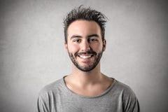 Homme de sourire Photos stock