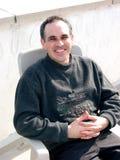 Homme de sourire image libre de droits