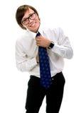Homme de sourire d'affaires Photographie stock