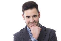 Homme de sourire d'affaires Images libres de droits