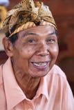 Homme de sourire de Balinese, Indonésie Photographie stock libre de droits