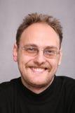 Homme de sourire de barbe Images libres de droits