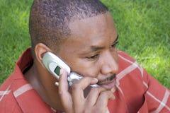 Homme de téléphone photos libres de droits