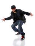 Homme dernier cri de Hip Hop Images stock