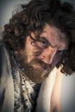 Homme des cavernes réaliste Photographie stock libre de droits
