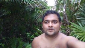Homme des vacances Image libre de droits