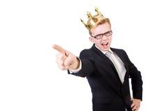 Homme dirigeant ses doigts image libre de droits
