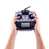 Homme disponible à télécommande Photographie stock libre de droits
