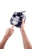 Homme disponible à télécommande Photos libres de droits