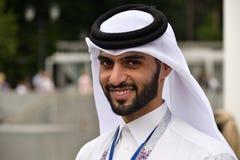 Homme du Qatar Images stock