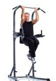 Homme en bonne santé de personnes âgées de forme physique Photo stock